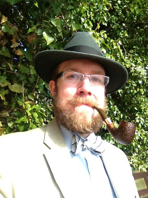 Contemplation and Pipe Smoking Go Well Together