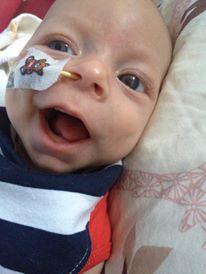 Edwyn during chemotherapy.